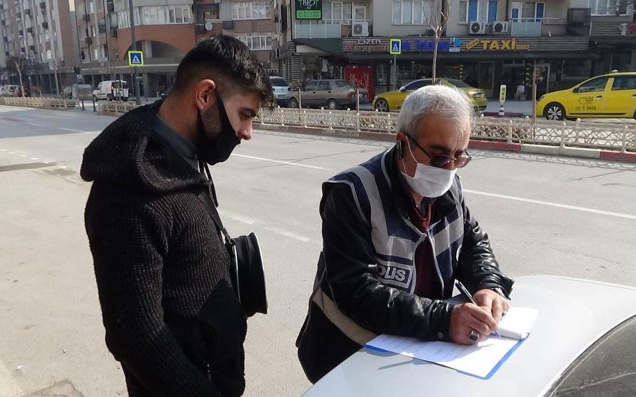 Bursa'da takside yakalandı! 8. kez kısıtlamaları ihlal etmekten ceza yedi