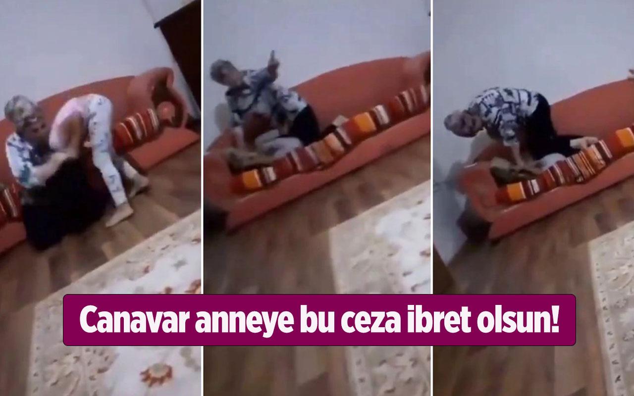 Canavar anne Nurcan Serçe'ye savcı 20 yıl hapis istedi! Küçük kızı canavarca dövdü işte o görüntü