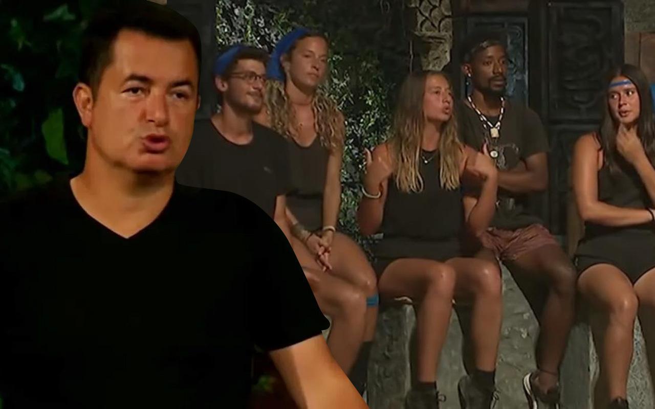 TV8 Survivor'da Aşk itirafı olay oldu Acun Ilıcalı'dan müdahale geldi