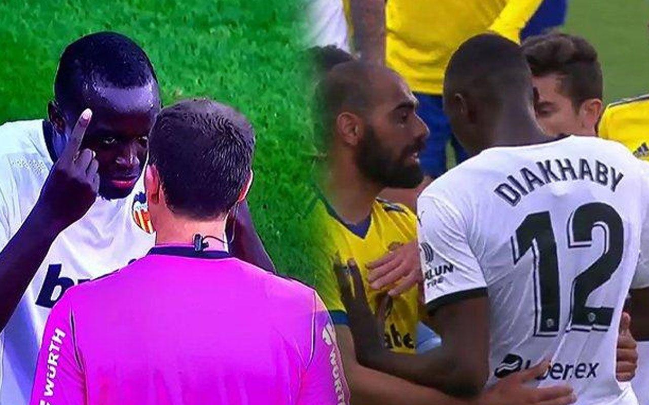 Cadiz-Valencia maçında Diakhaby'ye ırkçılık! Sahadan çekildiler