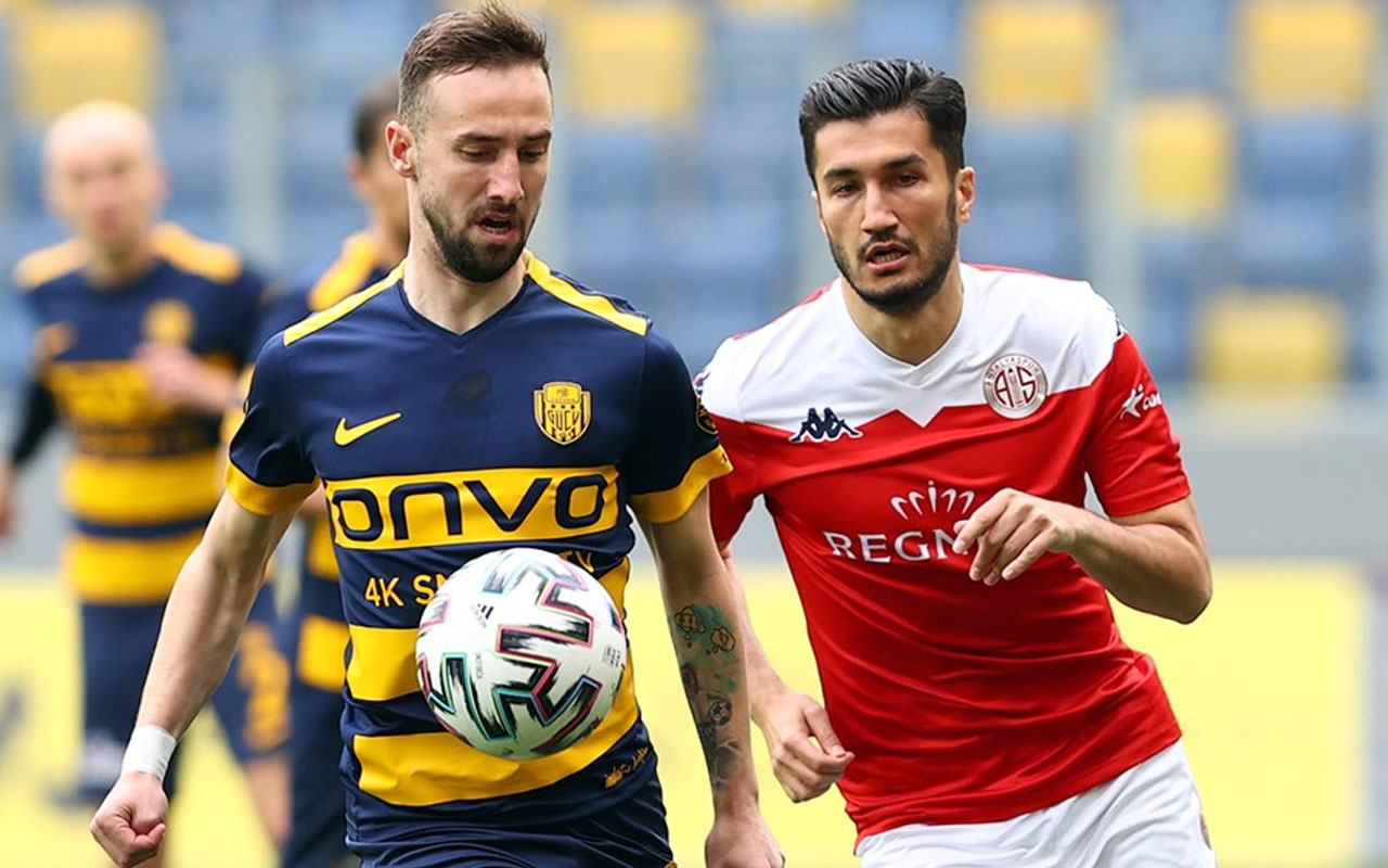 Ankaragücü son 5 maçta 4. galibiyetini Antalyaspor karşısında aldı
