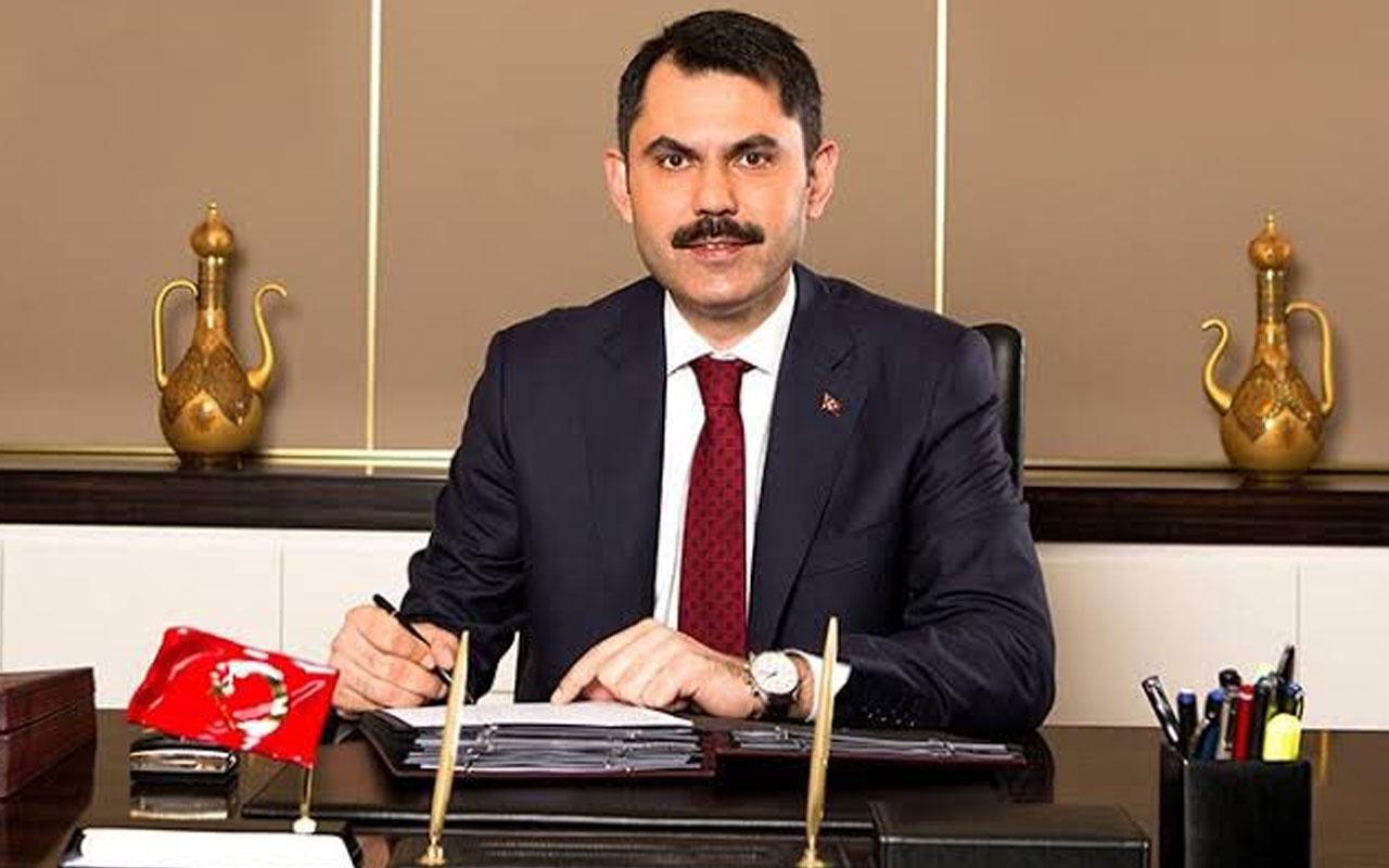 Çevre ve Şehircilik Bakanı Murat Kurum: Kanal İstanbul'u yapacağız
