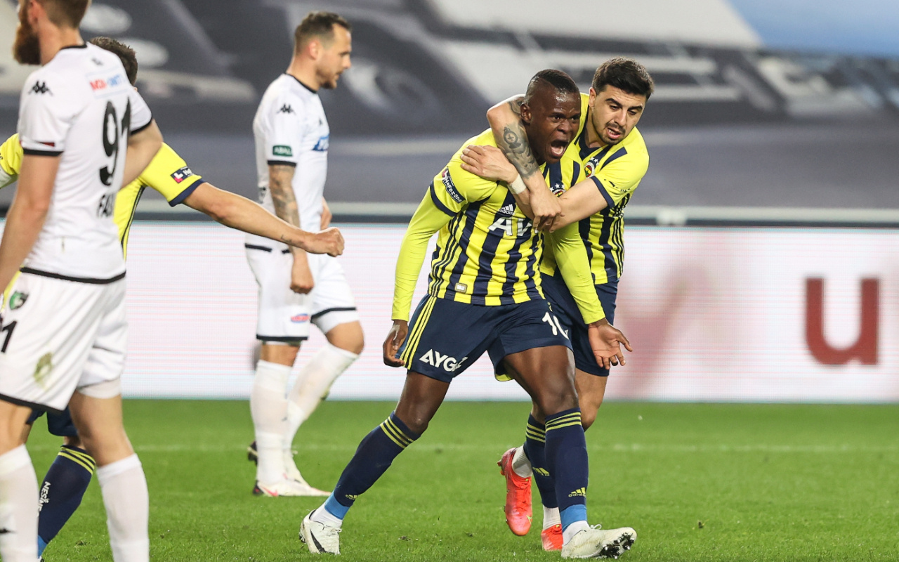 Fenerbahçe Denizlispor maçı golleri ve geniş özeti