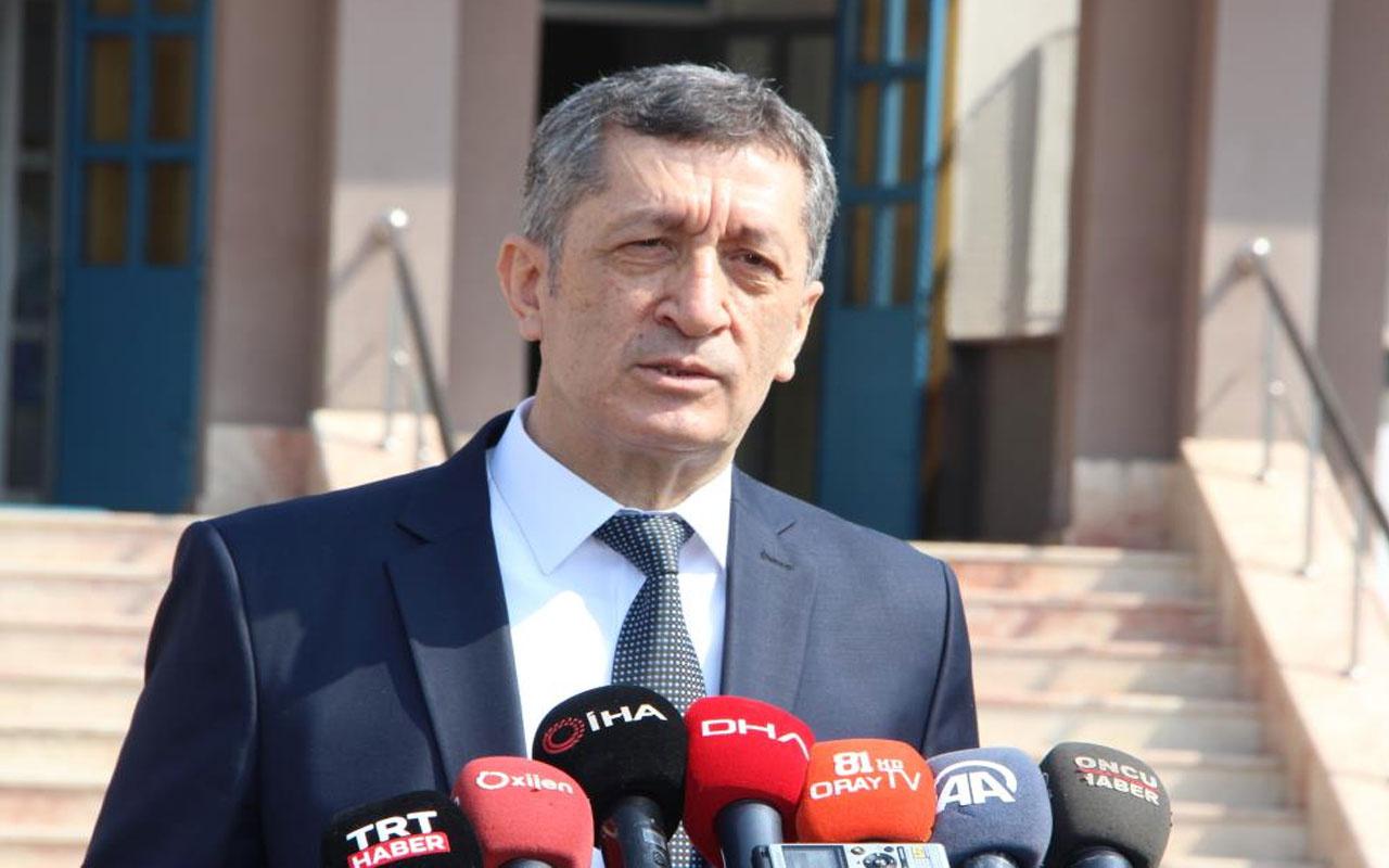 Milli Eğitim Bakanı Ziya Selçuk'tan yüz yüze eğitim açıklaması: Yüksek katılım hedefliyoruz