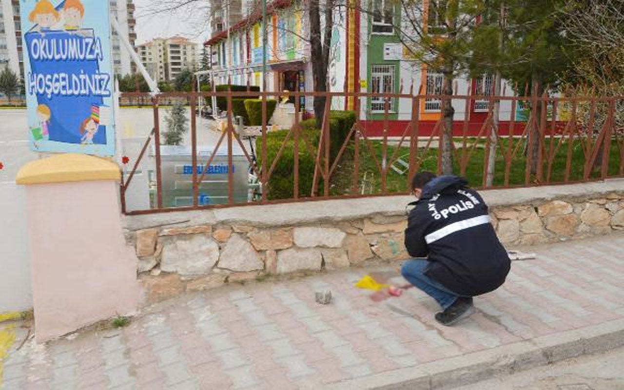 Konya'da dehşet! Çocuklarını görmek için geldiği okulda kayınpederini öldürdü
