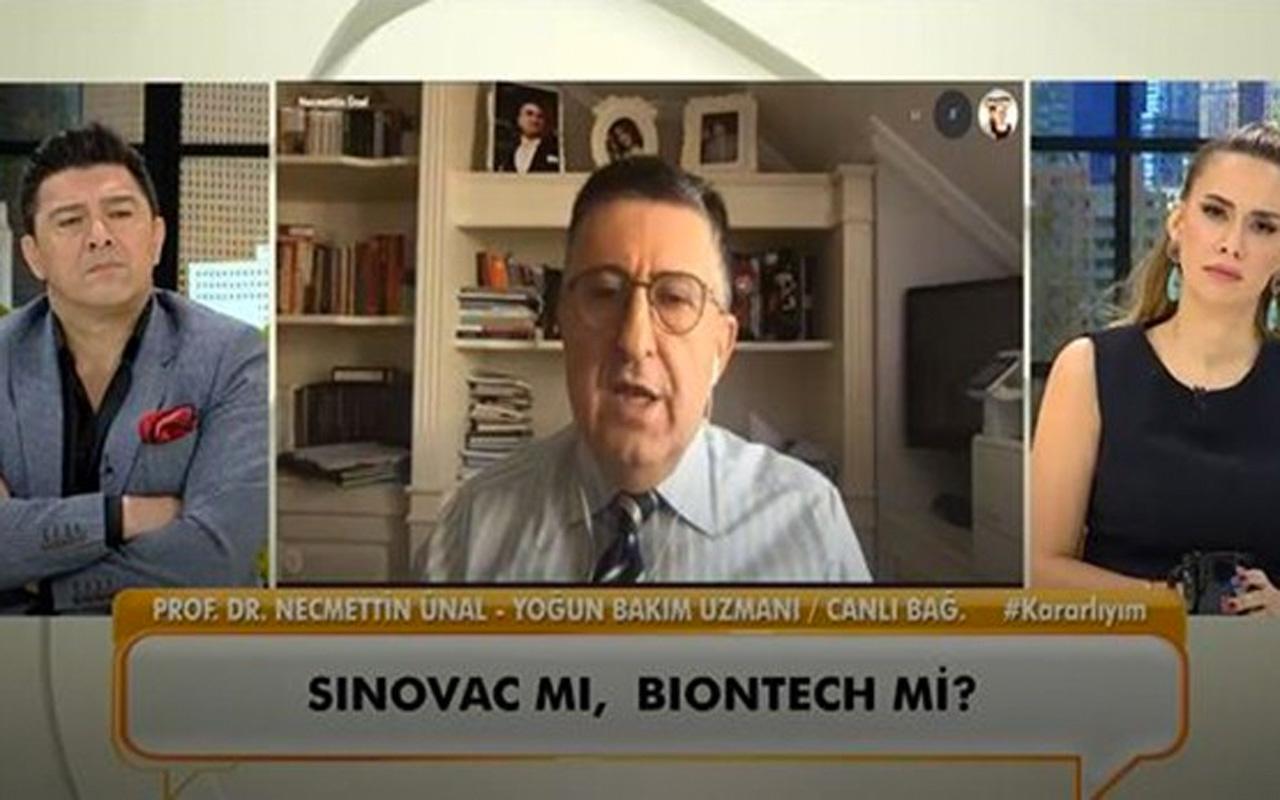 Sinovac mı Biontech mi? Prof. Dr. Necmettin Ünal hangi aşıyı olduğunu açıkladı