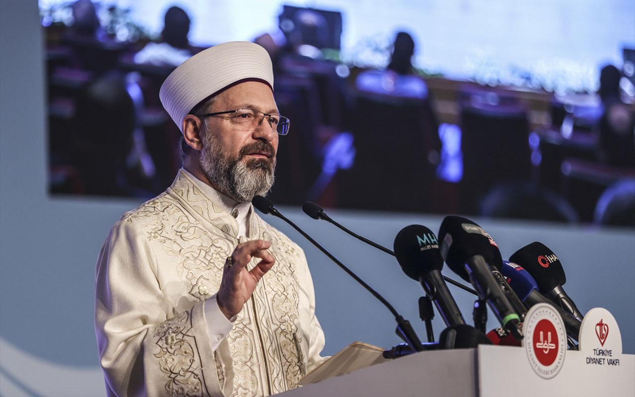 Diyanet İşleri Başkanı Ali Erbaş açıkladı! Ramazanda camilerde teravih namazı kılınmayacak