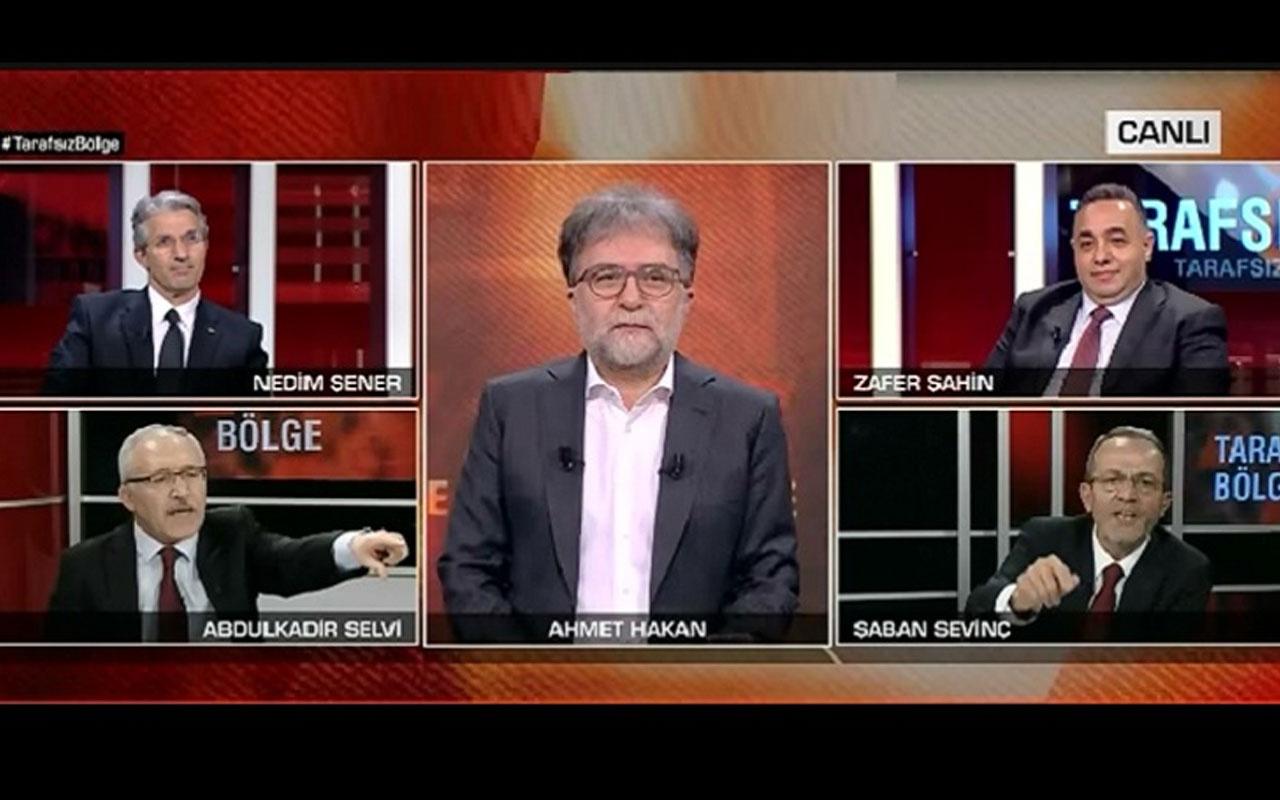 Abdulkadir Selvi'yle Şaban Sevinç canlı yayında FETÖ tartışması yaşadı