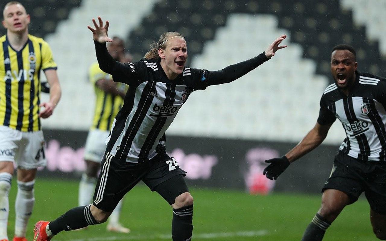 Beşiktaş'ta Domagoj Vida 100. lig maçına çıkıyor