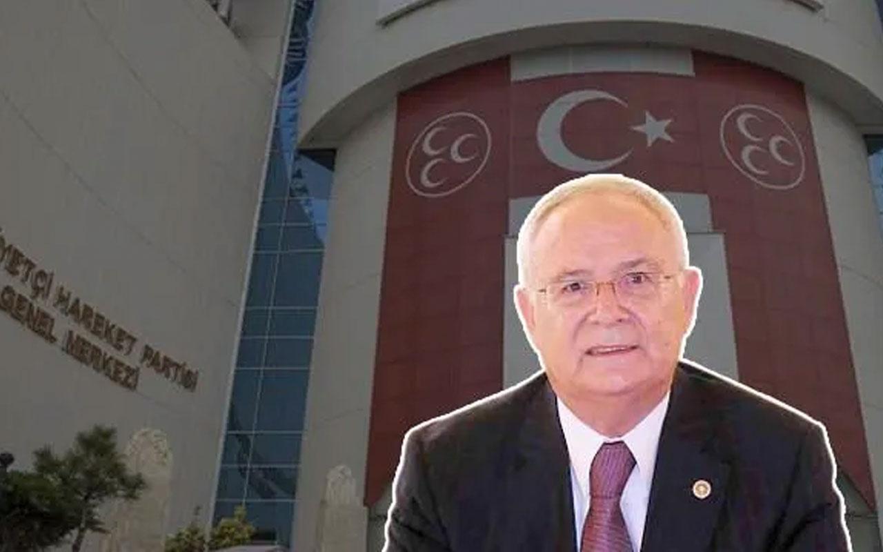 MHP'nin ihracını istediği Ertuğrul Kumcuoğlu partiden istifa etti