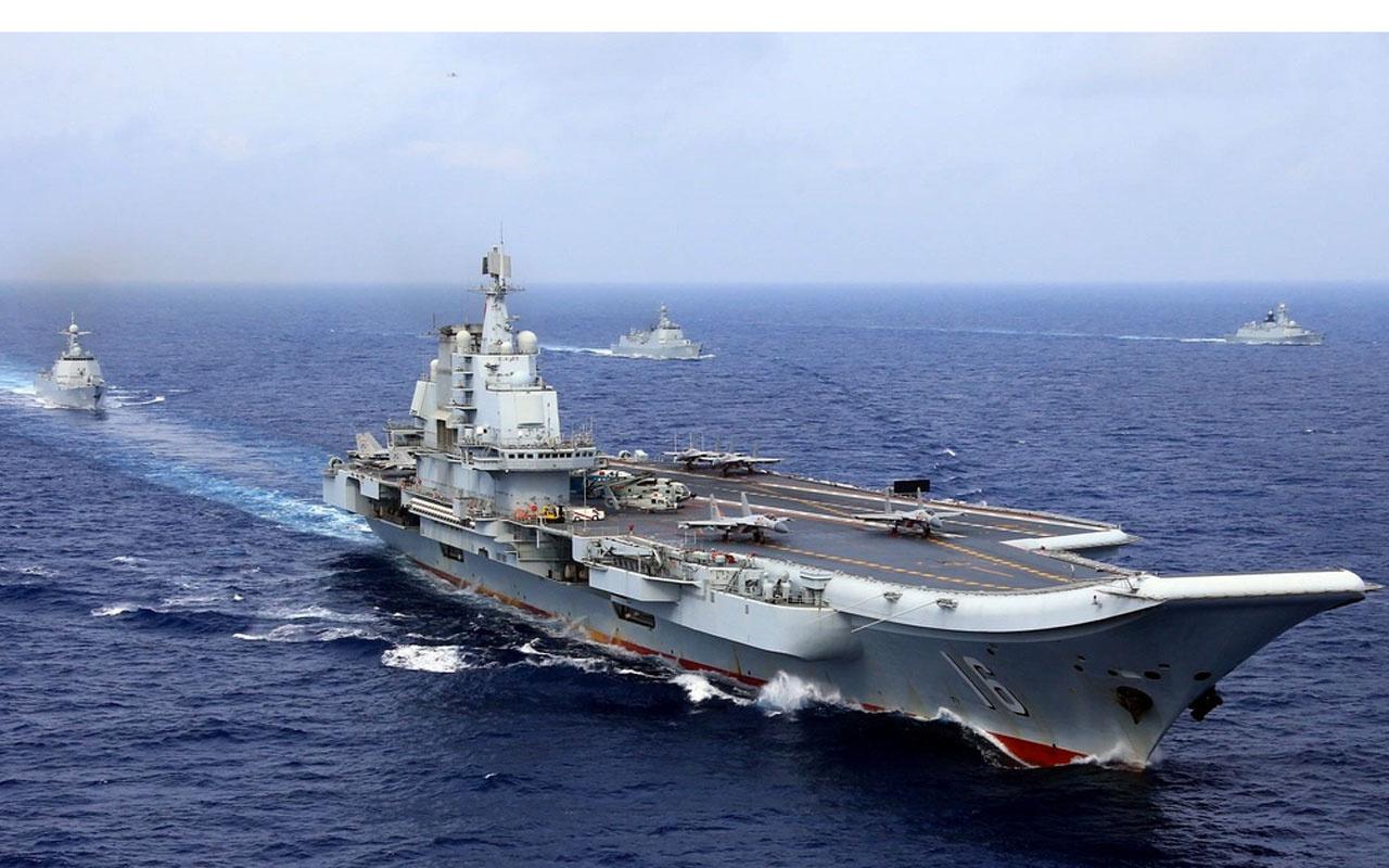 Çin suları ısındı iki uçak gemisiyle ABD'ye mesaj