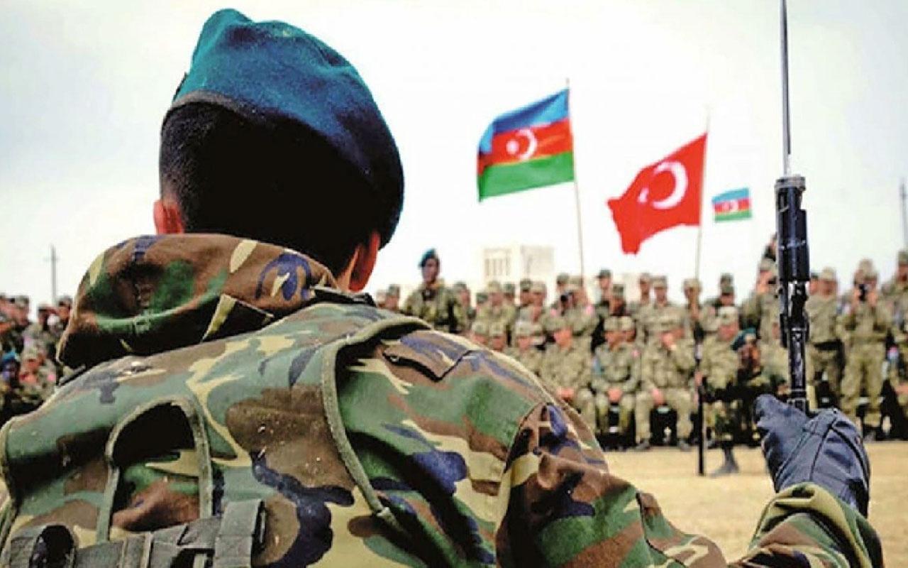Türkiye ve Azerbaycan muhabere birliklerinden ortak tatbikat