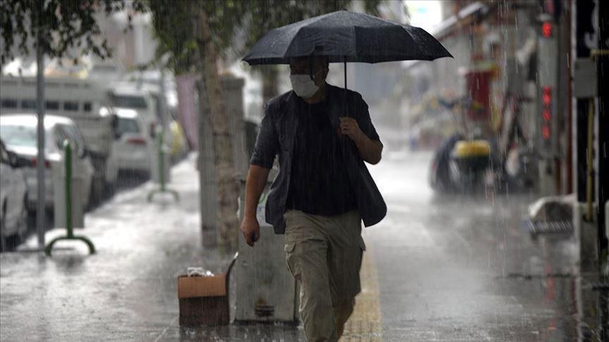 Sıcaklık 10 derece düştü Meteoroloji haber verdi bugün ve yarın etkili olacak