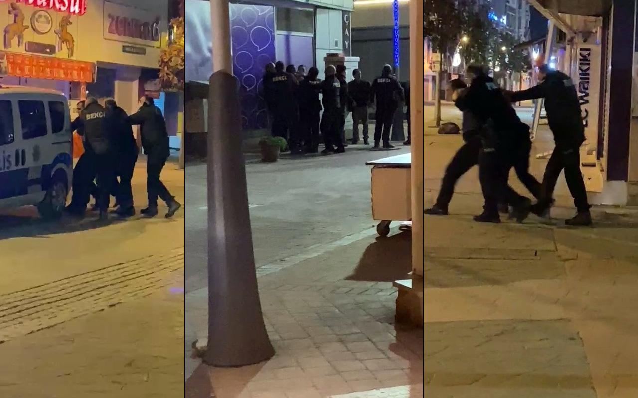 Sakarya'da 'beni kimse alamaz' deyip polislere kabusu yaşattı