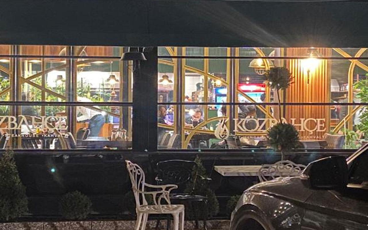 Bursa'da kısıtlamaya rağmen böyle! Açık restoranda yemeğe 51 bin lira ceza kesildi