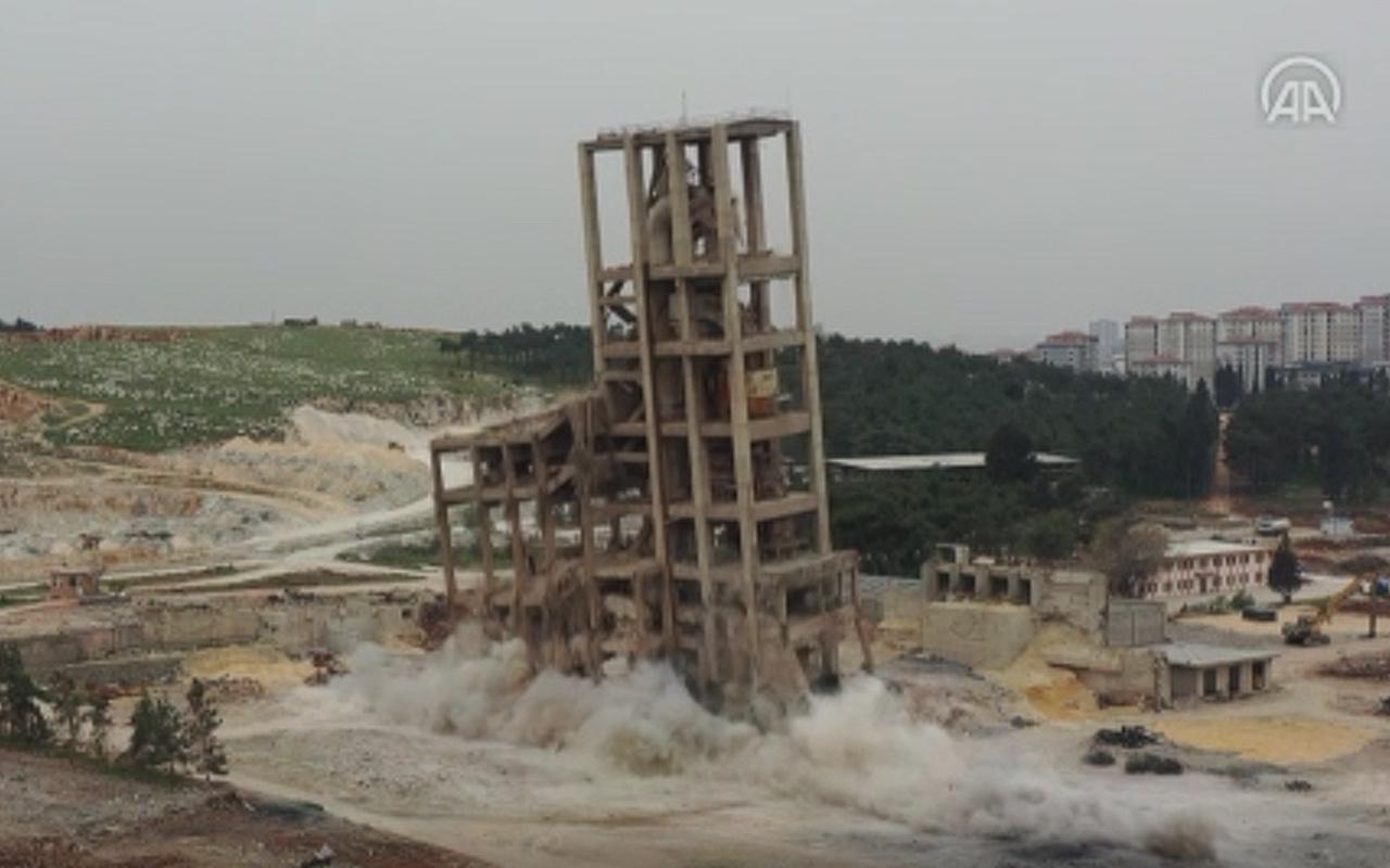 Irak, Azerbaycan'dan sonra bu kez Gaziantep! Siloyu patlayıcılarla enkaza çevirdi