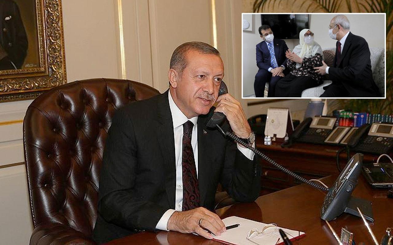 Cumhurbaşkanı Erdoğan Ekrem İmamoğlu'nun yakın markaja aldığı Mahruze Keleş'i aradı