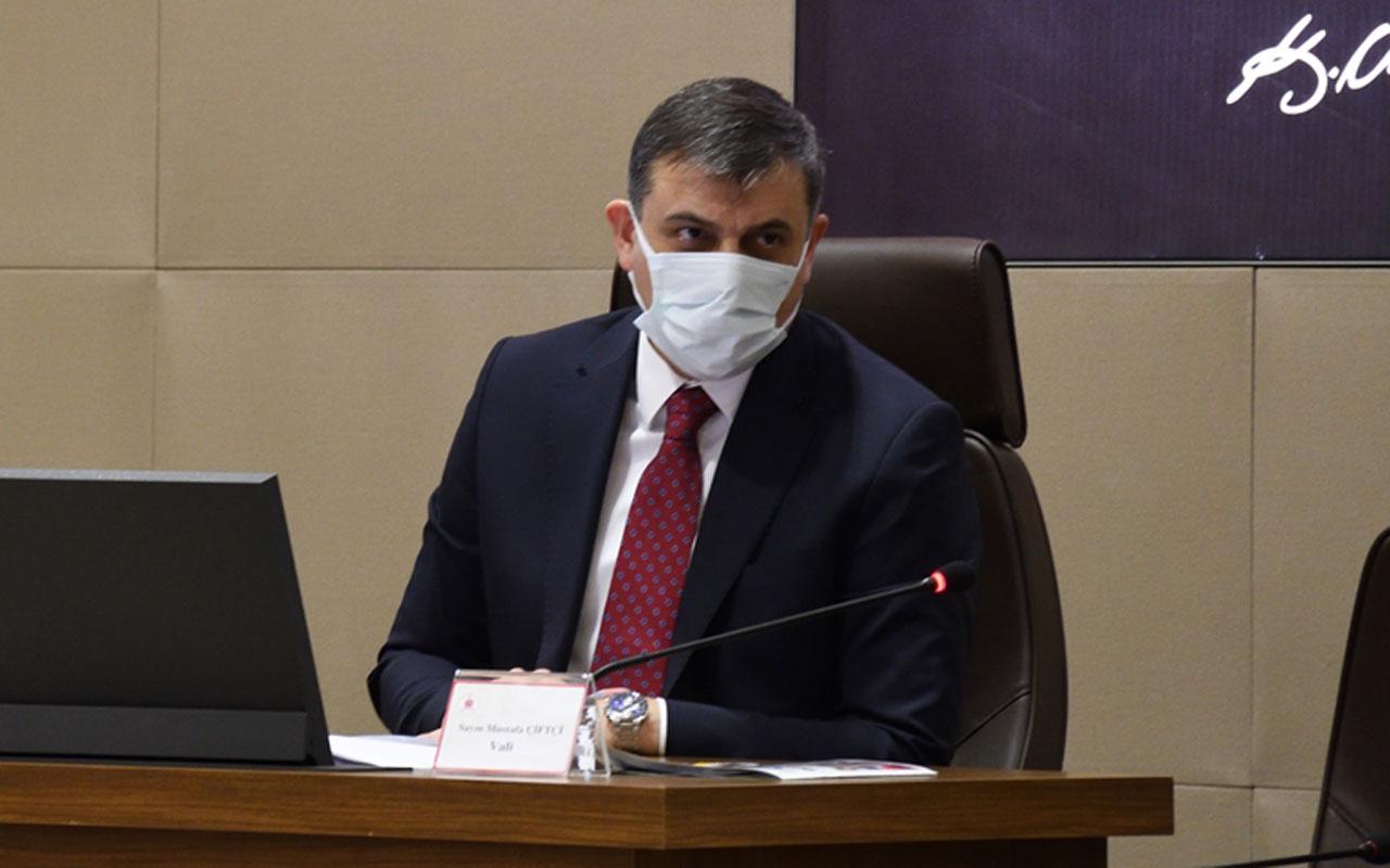 Vali Mustafa Çiftçi'den korkutan uyarı vaka sayısı 11.5 kat arttı