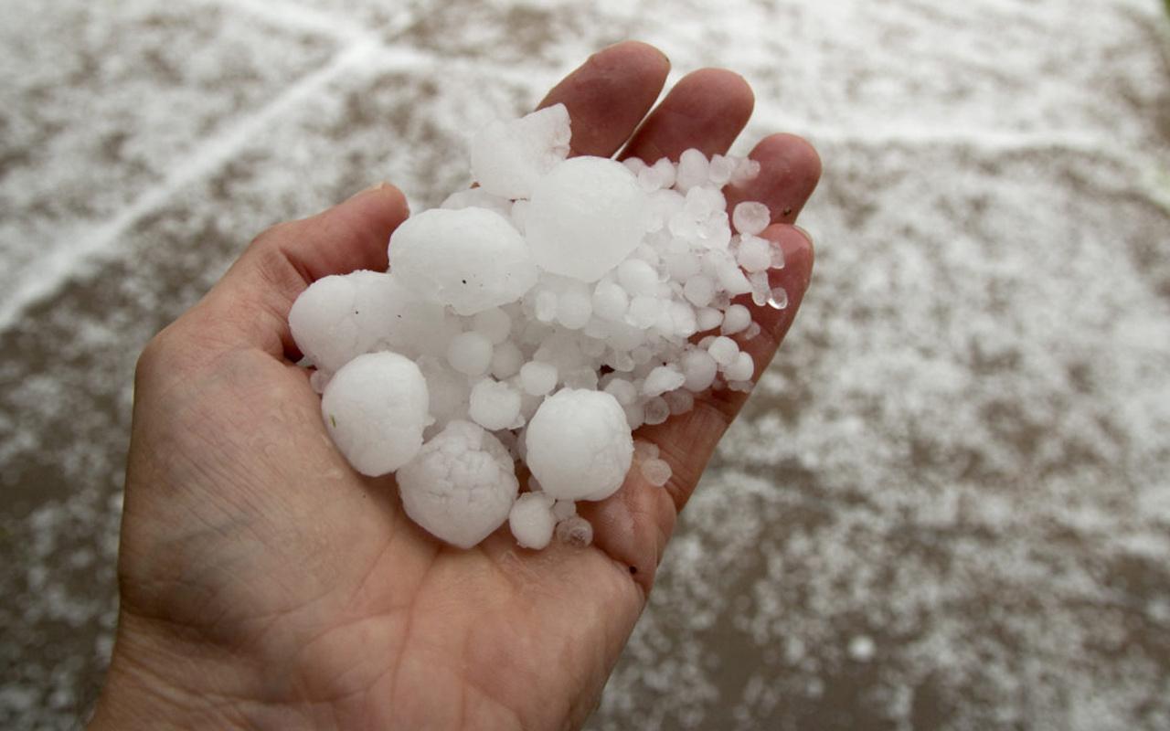 Trakya'dan giriyor tüm yurda yayılacak! Soğuklarla birlikte dolu yağışı da gelecek mi?