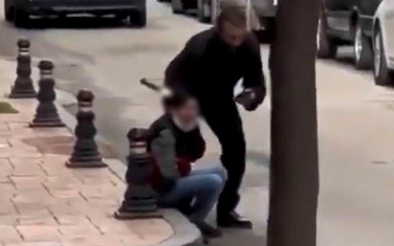 Samsun'da kafasına bıçak saplanmıştı! Yeni görüntüler ortaya çıktı