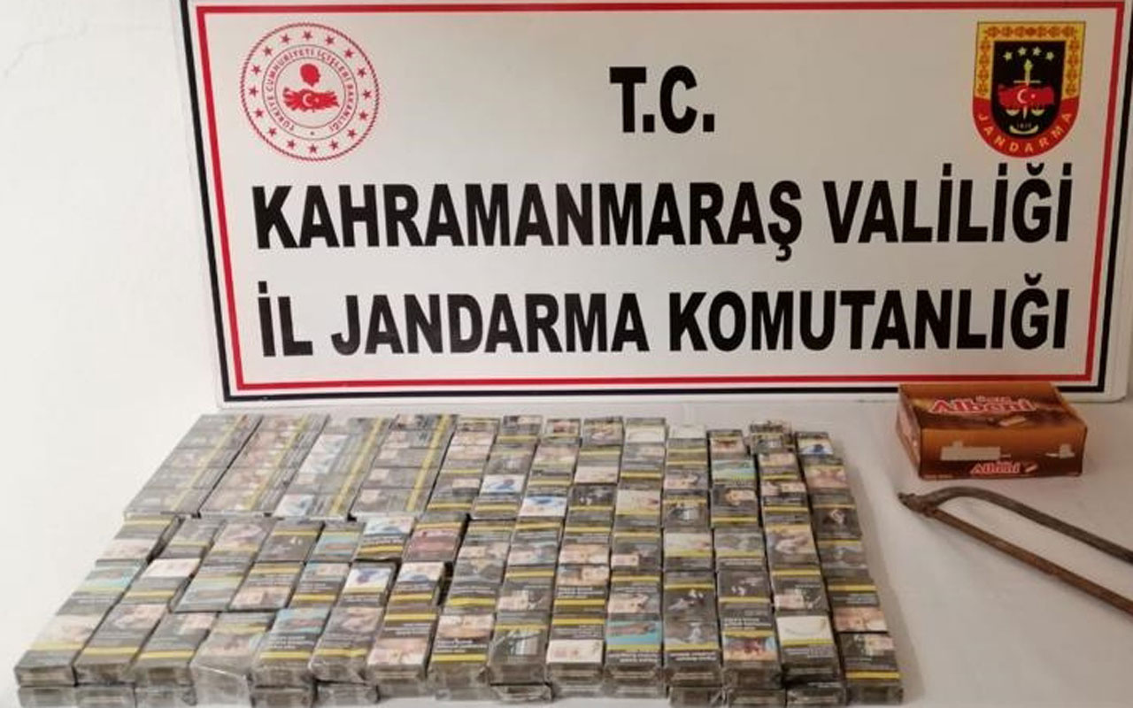Kahramanmaraş'ta hırsızlık zanlıları çaldıkları sigara ve çikolataları cami bahçesine gömdü