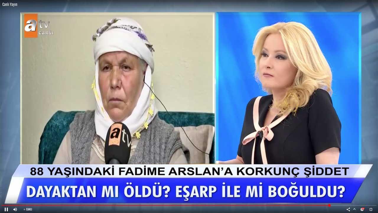 Müge Anlı bile korktu Manisa gelini Fidan Arslan cinsel organ ifşasıyla çıldırdı