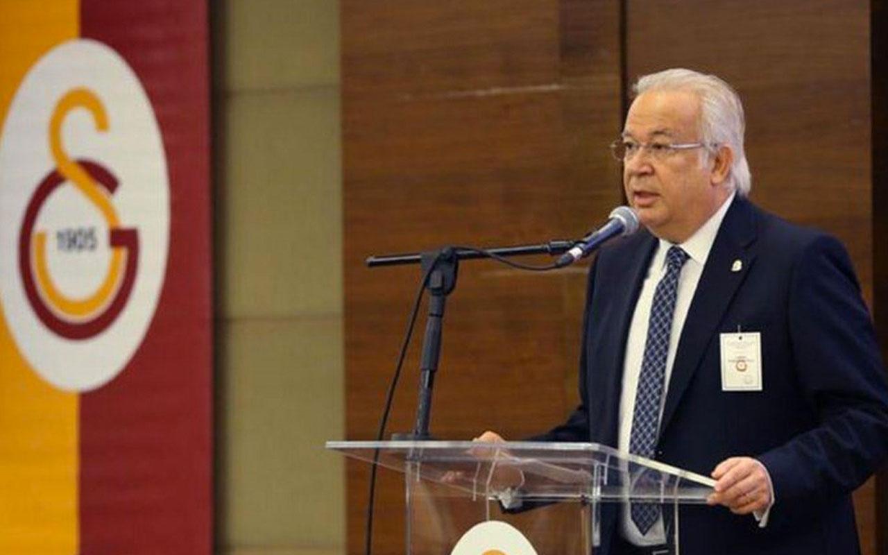 Eşref Hamamcıoğlu, Galatasaray başkanlığına aday oldu