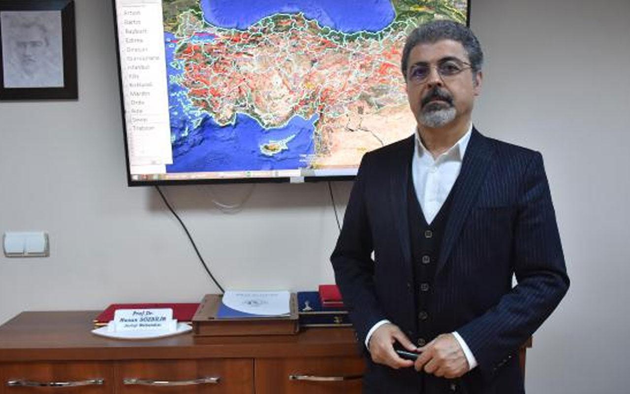 Prof. Dr. Hasan Sözbilir deprem riski en yüksek illeri sıraladı! İstanbul'un da adı geçti ama...