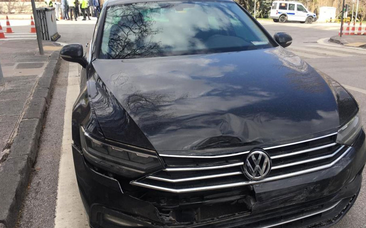 İYİ Parti Ankara Milletvekili Durmuş Yılmaz ve eşi Duriye Yılmaz trafik kazası geçirdi
