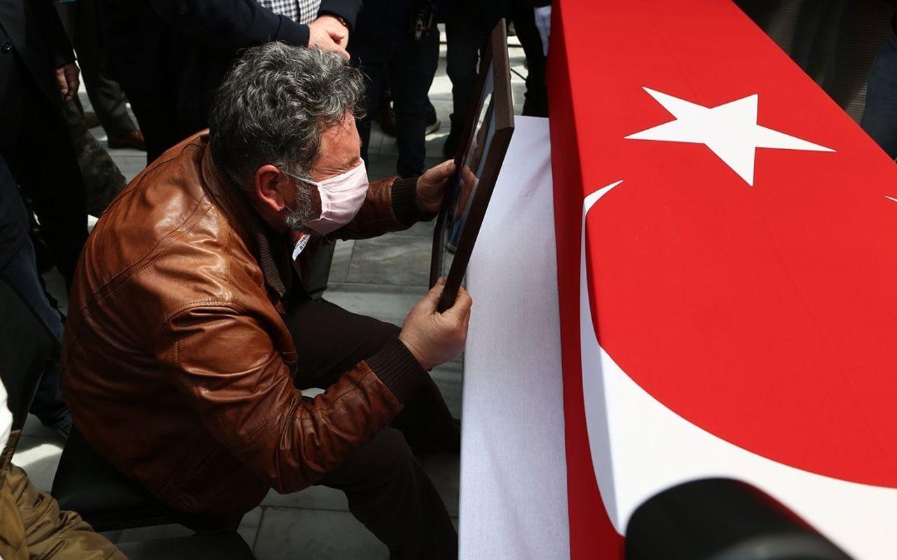 Şehit Türk Yıldızı Yüzbaşı Pilot Burak Genççelep Trabzon'da son yolculuğuna uğurlandı