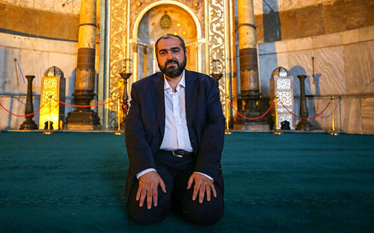 Ayasofya imamı Mehmet Boynukalın istifa nedenini açıkladı