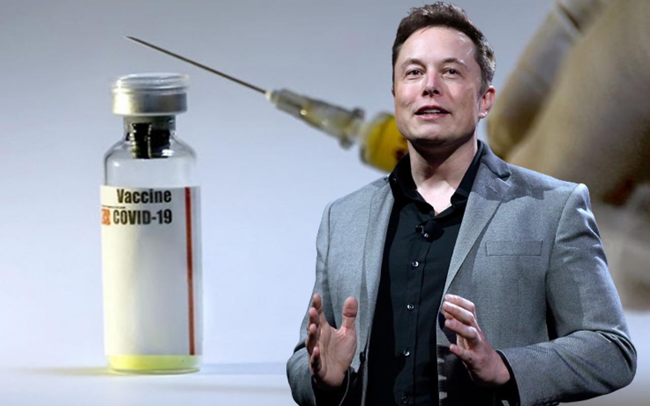 Elon Musk 'Covid-19 aşılarına güveniyorum' deyip tavsiye yaptı