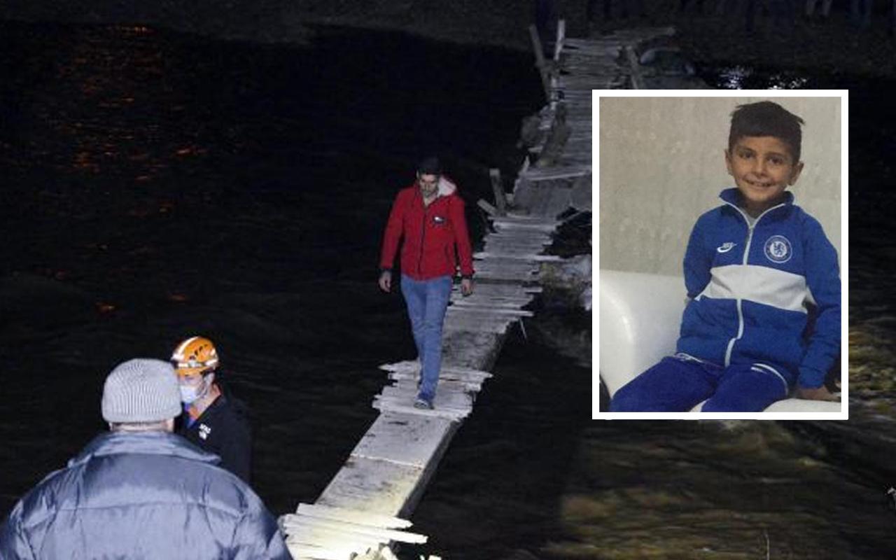 Ağrı'da kaybolan 8 yaşındaki Zeynel'in cansız bedenine ulaşıldı