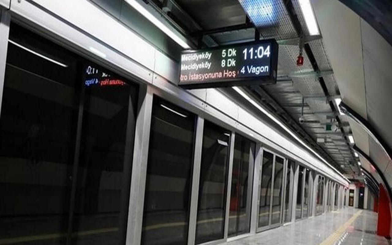 İstanbullular dikkat! Mecidiyeköy Metro İstasyonu kapatıldı