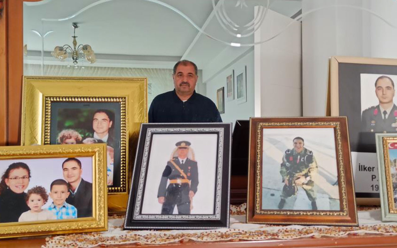 Şehit Yarbay İlker Çelikcan'ın babası Niyazi Çelikcan: Acımız biraz olsun dindi