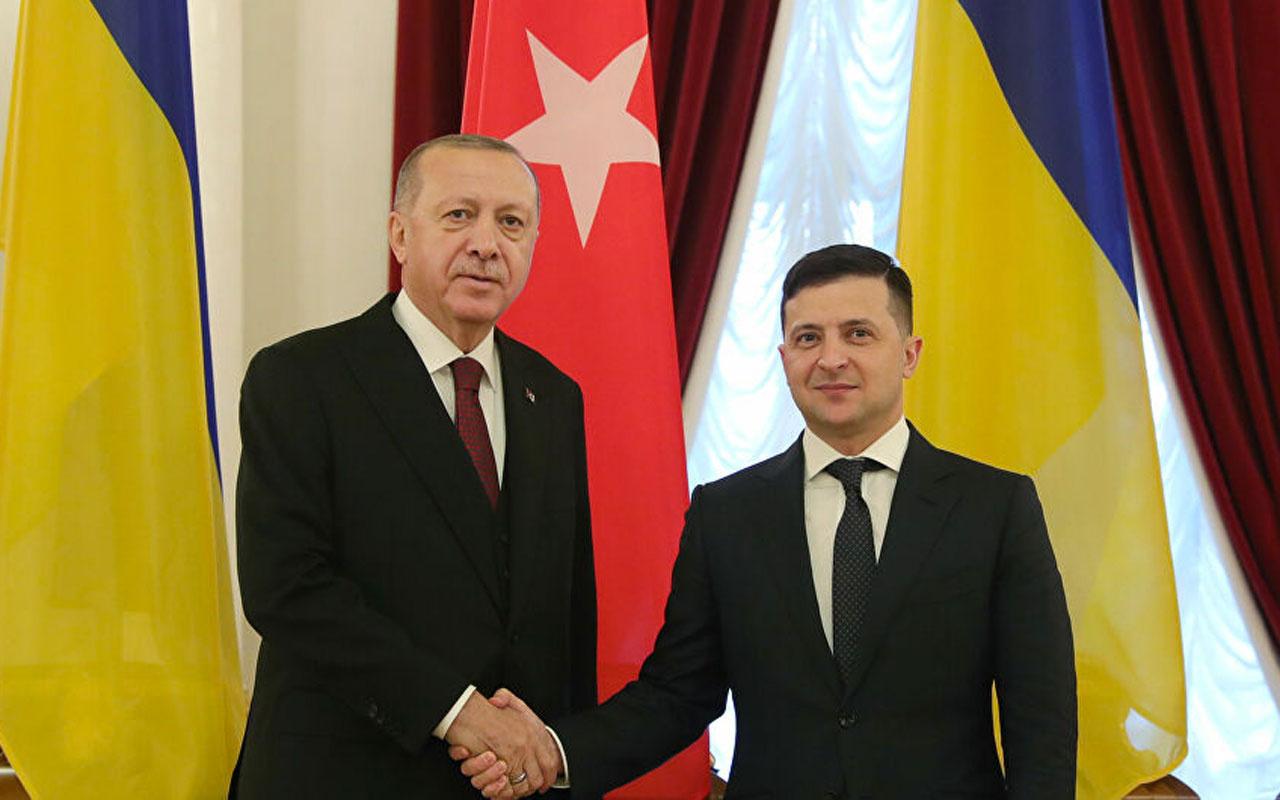 Ukrayna lideri Zelenskiy yarın Cumhurbaşkanı Erdoğan'la görüşecek