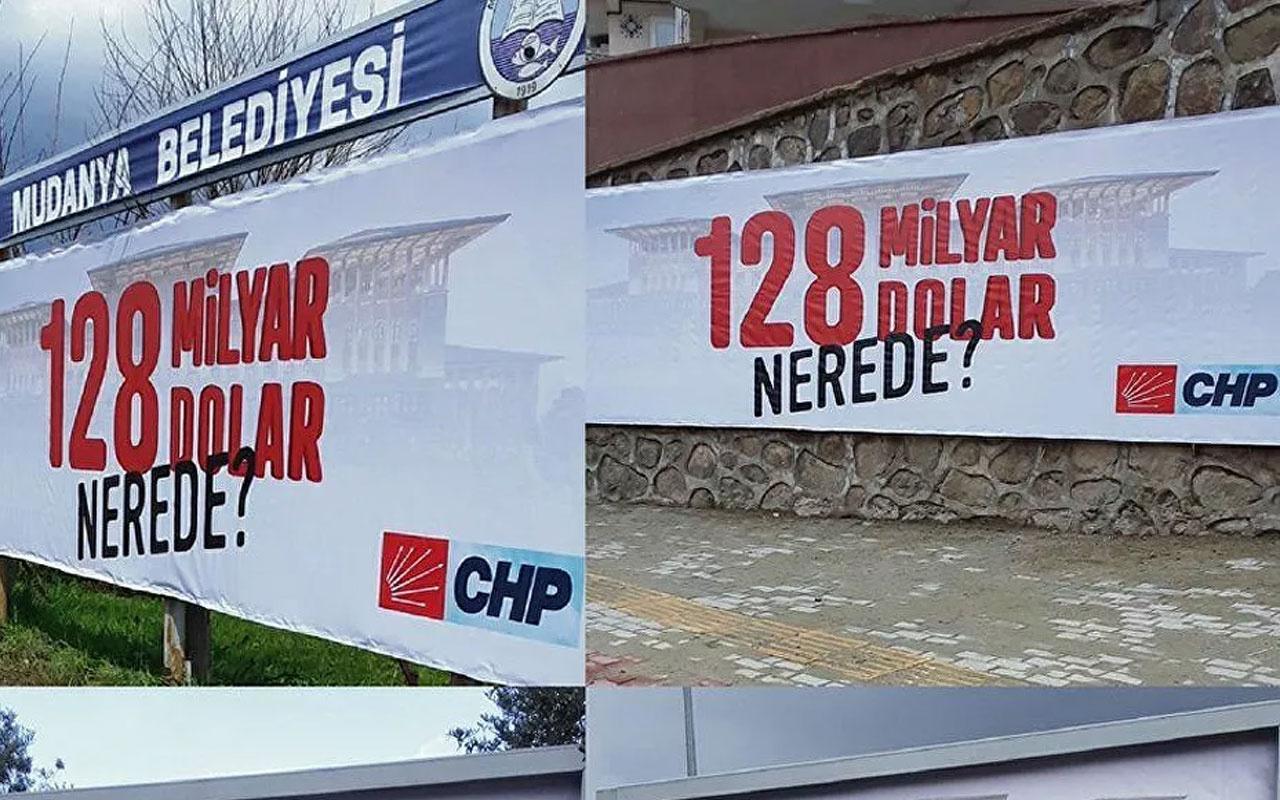 128 milyar dolar nerede? afişlerine 'Cumhurbaşkanına hakaret' soruşturması başlatıldı