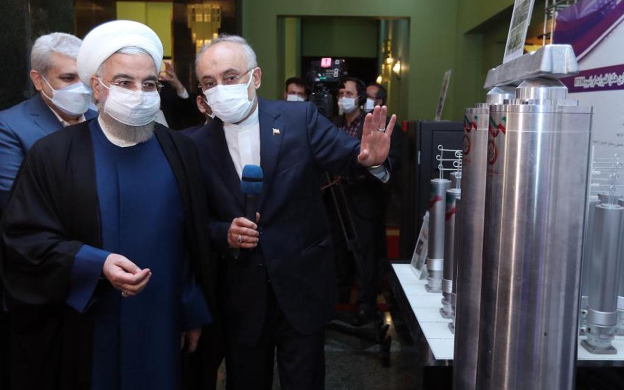 İran devreye soktu! Ruhani'den nükleer gerilimini arttıracak talimat