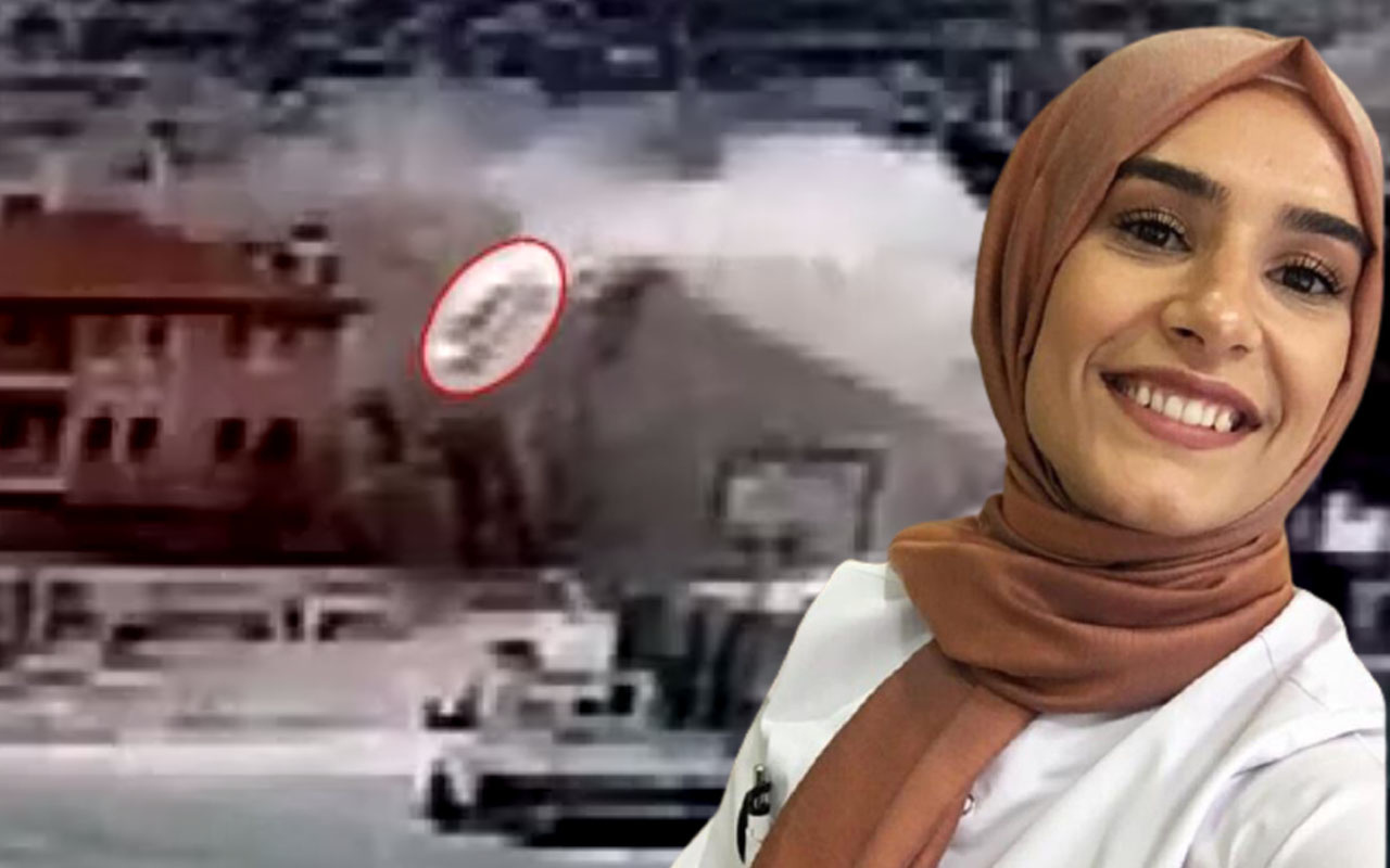 Karaman'da Seycan hemşirenin hayatını kaybettiği kazanın görüntüleri ortaya çıktı