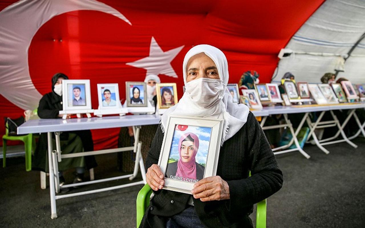 Diyarbakır'da evlat nöbeti tutan anne: O silahları göm de gel Fadimem