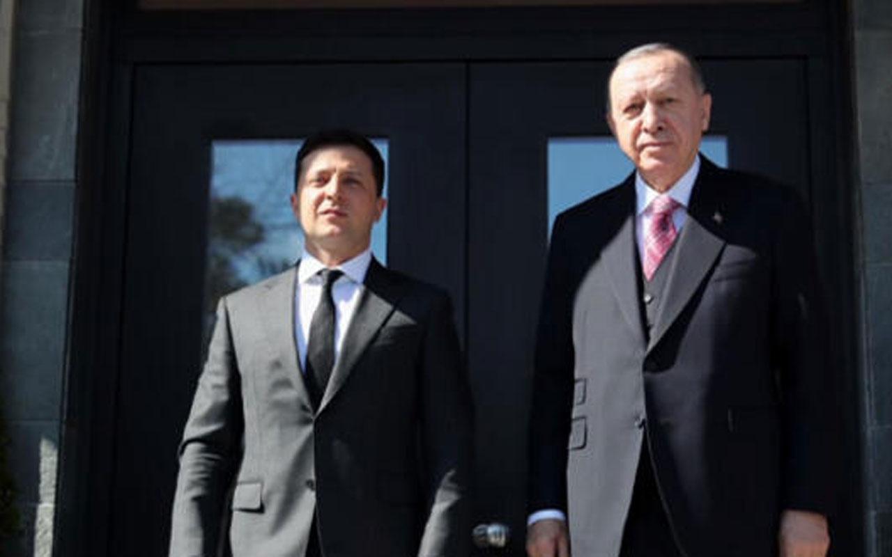 Erdoğan ile Zelenskiy görüşmesi başladı!