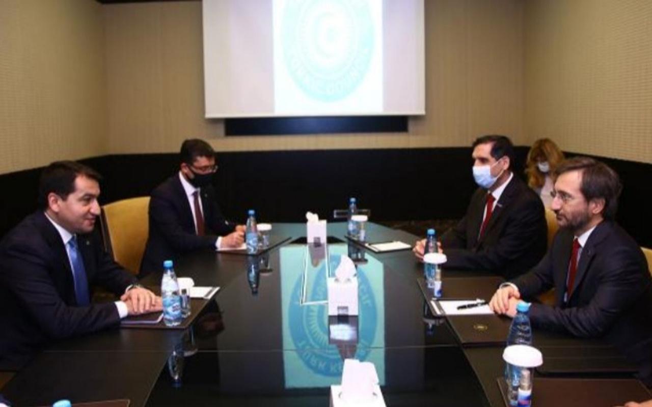 İletişim Başkanı Fahrettin Altun Azerbaycan'da