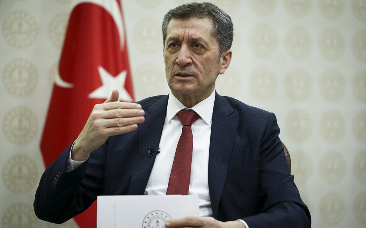 Milli Eğitim Bakanı Ziya Selçuk 'Okullar kapanacak mı?' sorusuna cevap verdi