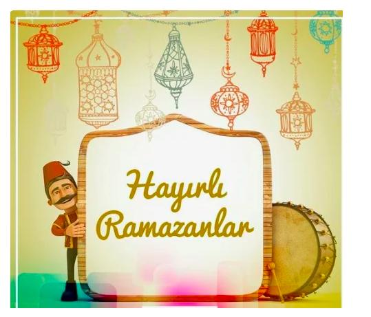 Ramazan ayı kutlama mesajları 2021 kısa resimli hayırlı Ramazan sözleri