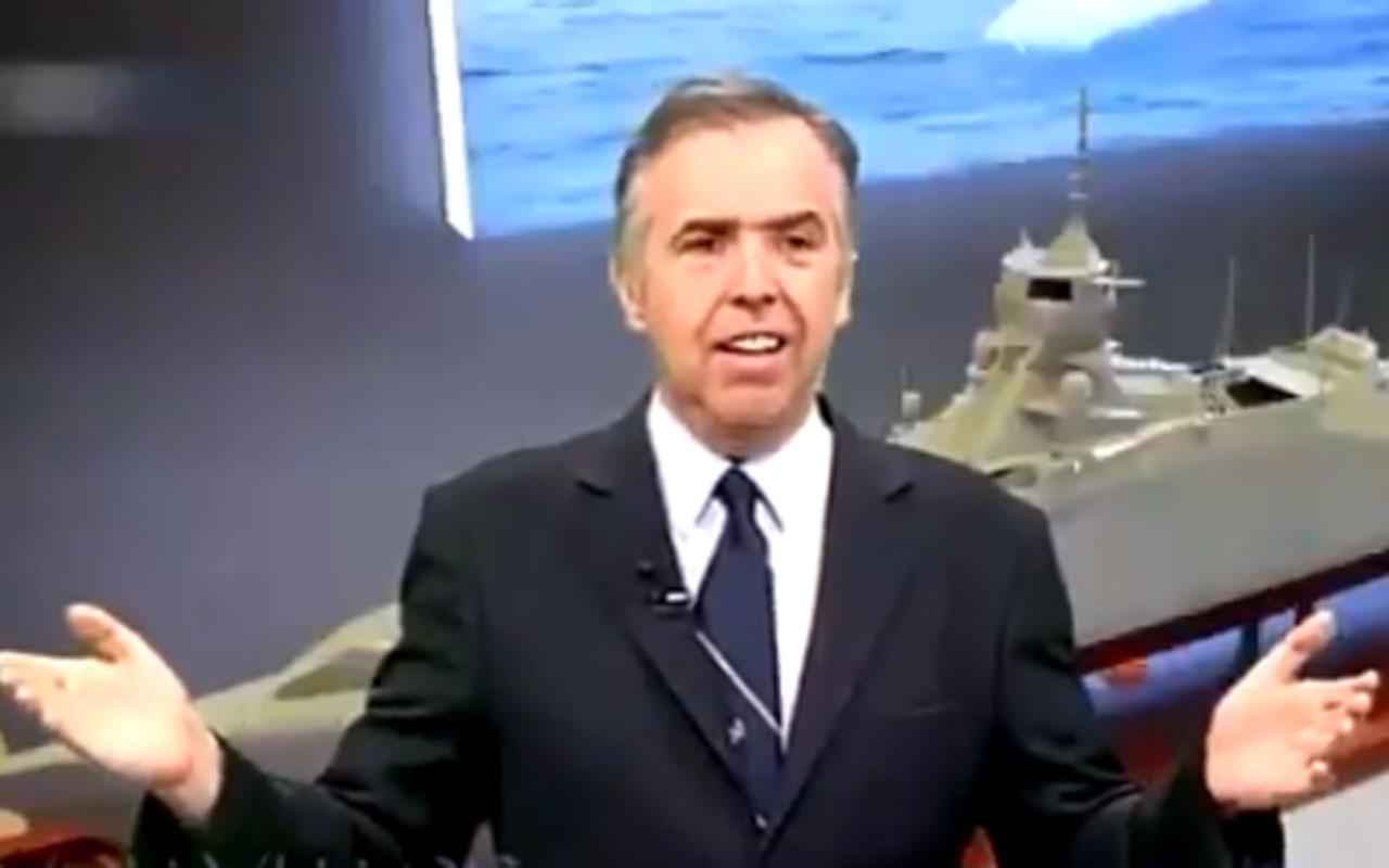 Yunan spiker isyan etti: Türkler savaş gemileri yaparken biz fren sistemi almayı kutluyoruz