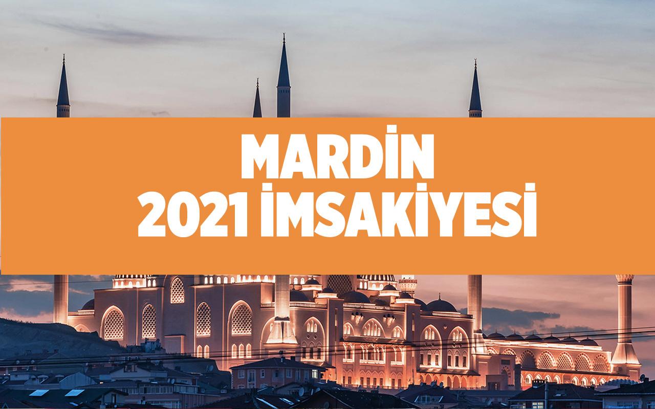 Mardin sahur vakti kaçta 2021 Diyanet Mardin imsakiyesi