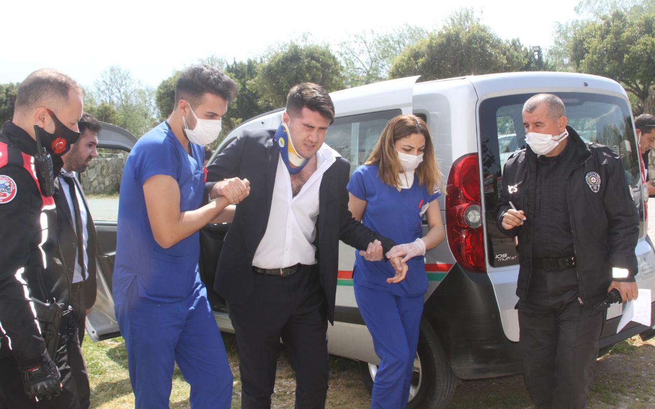Antalya'da haciz işlemi için gelen avukatı darp eden 3 işletmeci tutuklandı