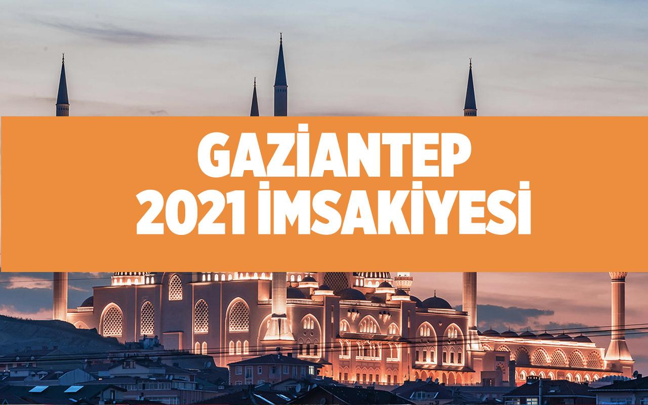 Gaziantep sahur vakti 2021 Diyanet imsakiyesi Gaziantep'te iftar kaçta?