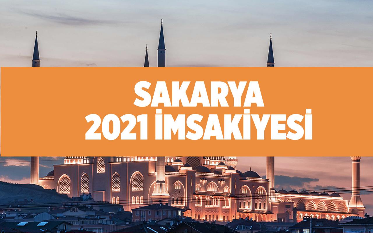 2021 Sakarya iftar saati kaçta 2021 Diyanet imsakiyesi