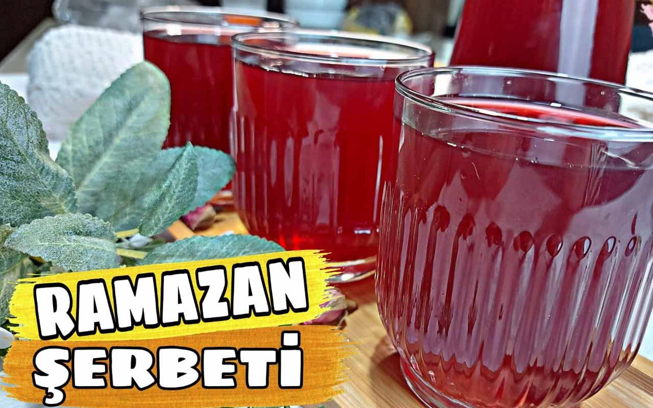 Ramazan şerbeti nasıl yapılır enfes lezzet!